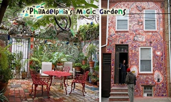 Philadelphia's Magic Gardens - Washington Square West: $11 for Tour and Souvenir Mosaic Picture Book at Philadelphia's Magic Gardens (Up to $22 Value)