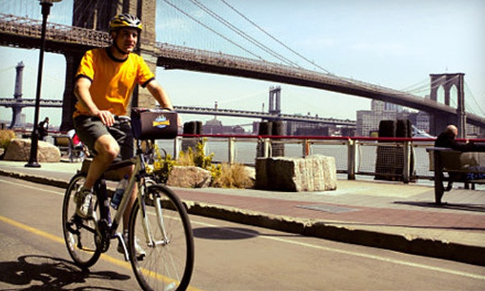Bike and Roll NYC - Multiple Locations: Guided Bicycle Tours for One, Two, or Four or $50 for $100 Worth of Bike Tours from Bike and Roll NYC