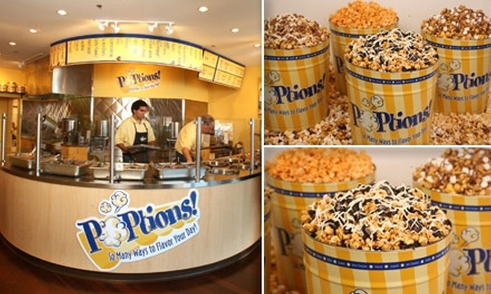 POPtions! - Ladue: $5 for $15 Worth of Gourmet Popcorn at POPtions!