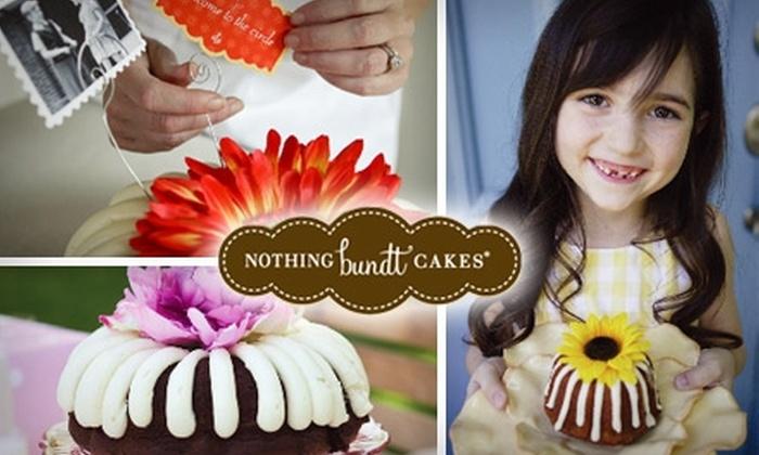 Nothing Bundt Cakes Scottsdale - Phoenix: $10 for $20 Worth of Baked Creations at Nothing Bundt Cakes