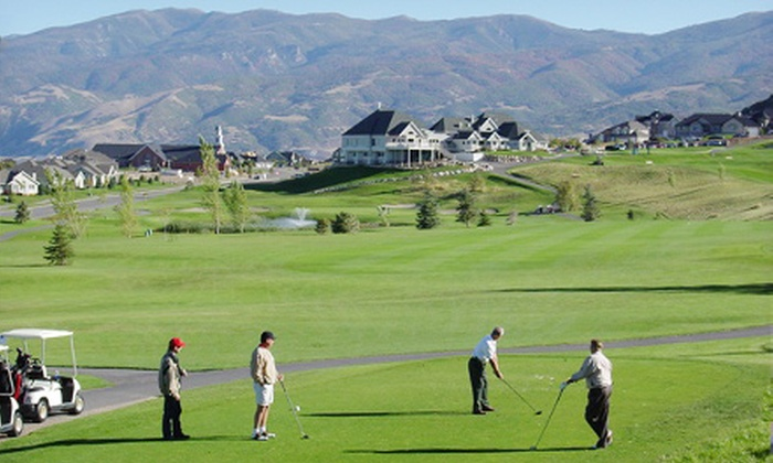 Eaglewood Golf Course - North Salt Lake: $20 for a Golf Outing Package at Eaglewood Golf Course in North Salt Lake ($40 Value)