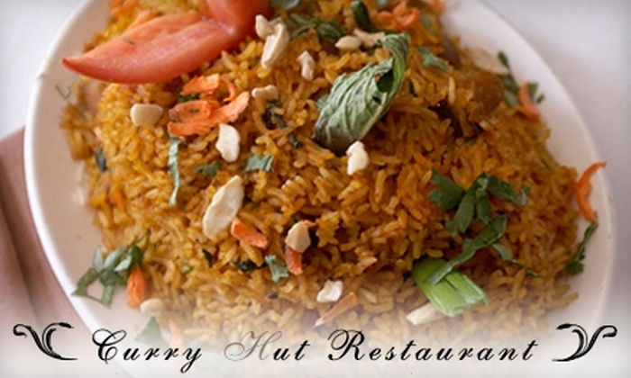 Curry Hut - Highwood: $10 for $20 Worth of Indian and Nepalese Cuisine and Drinks at Curry Hut Friday–Sunday in Highwood (or $10 for $25 Monday– Thursday)