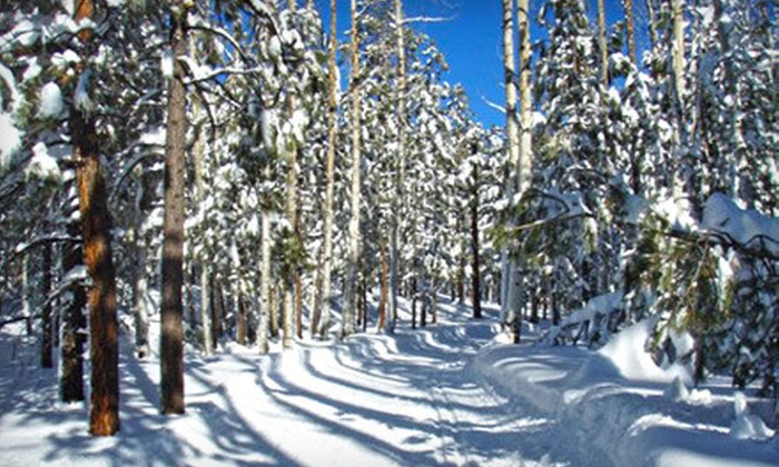 Flagstaff Nordic Center - Multiple Locations: One-Day Ski or Snowshoe Trail Passes for Two or Four with Equipment Rental at Flagstaff Nordic Center (Up to 55% Off)