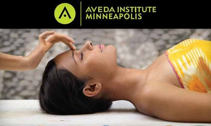 Aveda Institute Minneapolis - Marcy-Holmes: $25 for $50 Worth of Hair Care, Skin Care, Makeup Services, Nail Services, and More at Aveda Institute Minneapolis