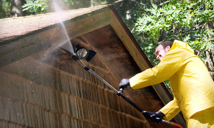 JR Painting - Syracuse: Power Washing for a One- or Two-Story House from JR Painting (Up to 63% Off)