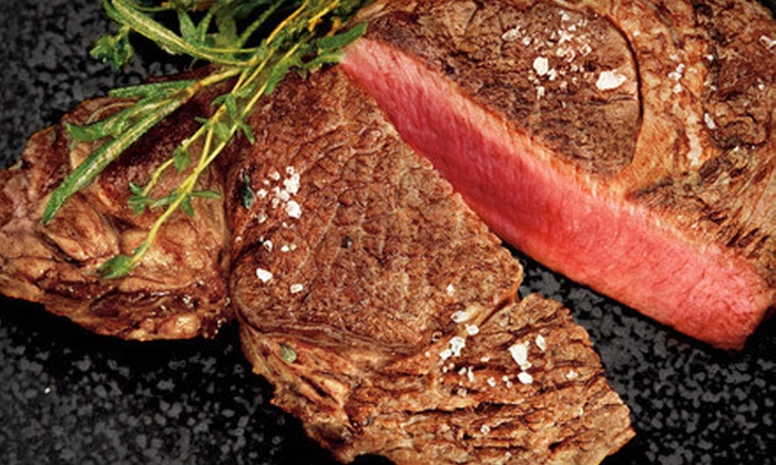 La Cense Beef: $89 for Eight Grass Fed Ribeyes with Shipping from La Cense Beef ($184.47 Value)