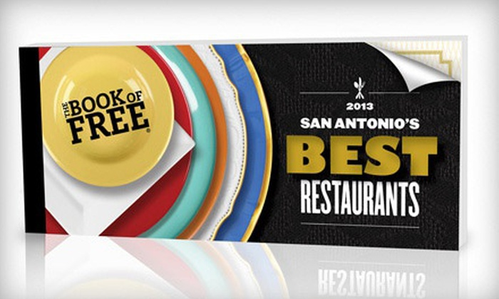 Book of Free: $25 for the Book of Free 2013 Restaurant-Gift-Certificate Book with Shipping ($79 Value)