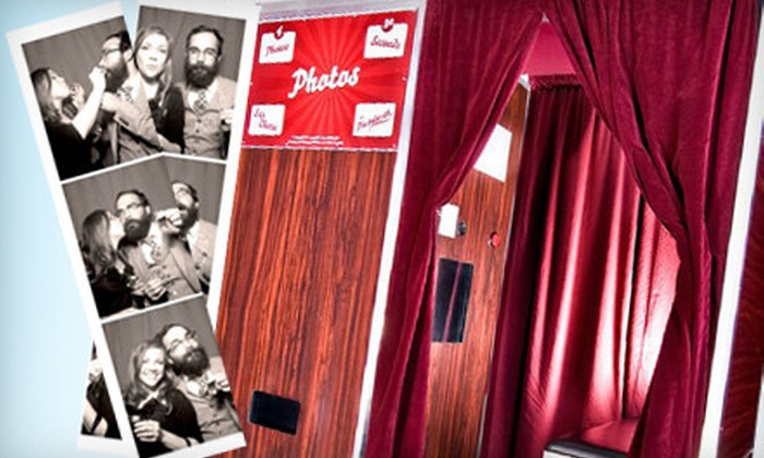 The Majestic Photobooth Company - Sandy Springs: $649 for a Four-Hour Photo-Booth Rental Package from The Majestic Photobooth Company ($1,295 Value)