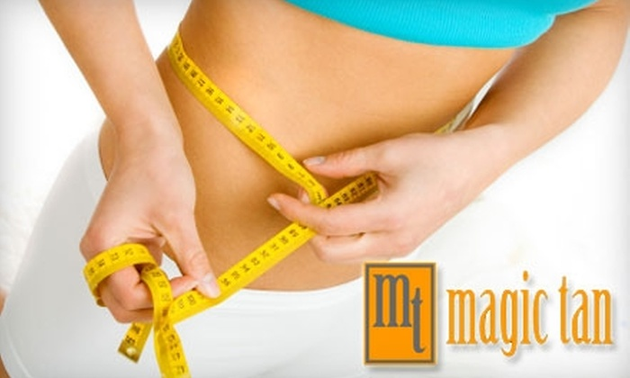 Magic Tan - Blossom Valley: $49 for Fit Infrared Body Wrap at Magic Tan ($99 Value)