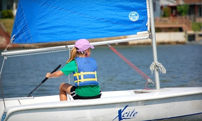 Baltimore County Sailing Center - Essex: One-Week Kids' Sailing Camp at Baltimore County Sailing Center in Essex. (Four Sessions Available).