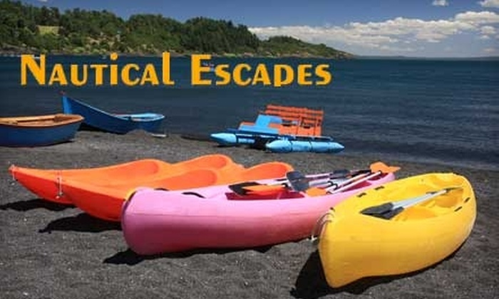 Nautical Escapes - Atlantic Beaches: $20 for a Guided Kayaking, Canoeing, or Hiking Tour with Nautical Escapes (Up to $40 Value)