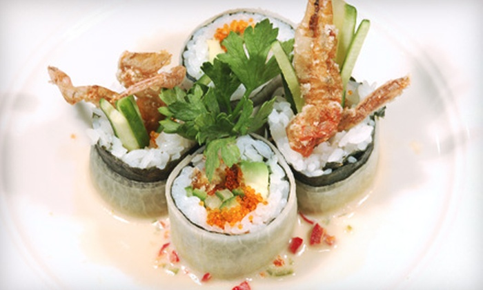 Umi Sushi - Lake Forest: $12 for $24 Worth of Sushi and Drinks for Dinner at Umi Sushi