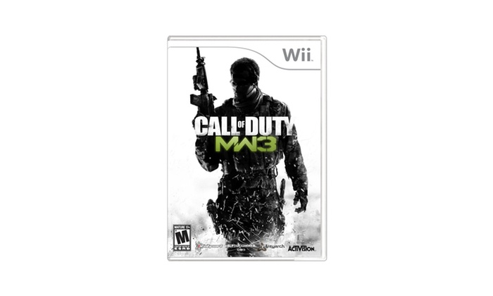 Call of Duty: Modern Warfare 3 for Nintendo Wii. Free Returns Deals for only $19 instead of $49