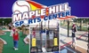 Maple Hill Sports Center - CLOSED - Lebanon: $20 for Unlimited All-Day Mini Golf, Aeroball, and Batting-Cage Rounds for Two People at Maple Hill Sports Center in Lebanon ($44 Value)