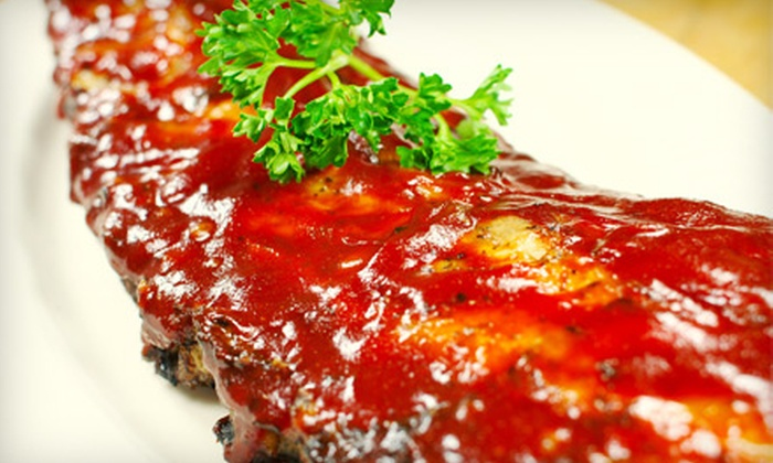 Jones Barbeque - Multiple Locations: Barbecue Fare for Dinner or Lunch at Jones Barbecue