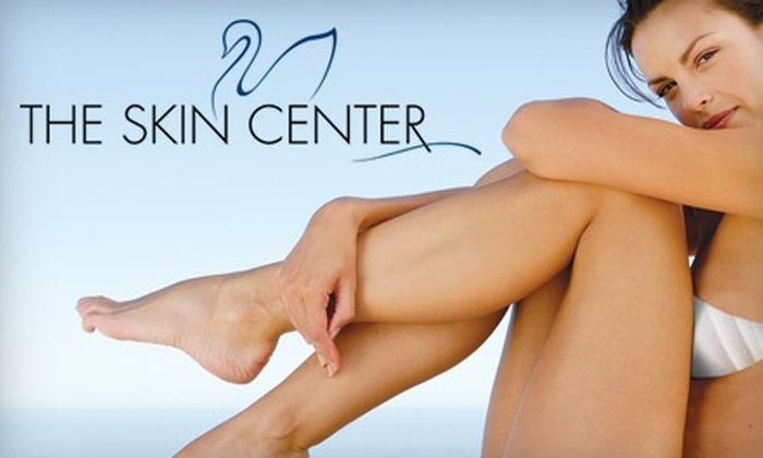 The Skin Center Medical Spa - Multiple Locations: $150 for Three Cosmetic Sclerotherapy Spider- or Varicose-Vein Treatments at The Skin Center Medical Spa ($1,050 Value)