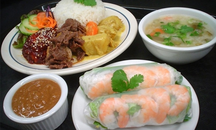 Steamed Rice Express - Bells Corners West: $5 for $10 Worth of Pan-Asian Fare at Steamed Rice Express