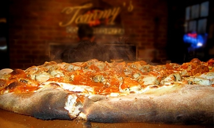 Tommy's Coal Fired Pizza - Multiple Locations: $15 for $30 Worth of Italian Fare and Drinks at Tommy's Coal Fired Pizza