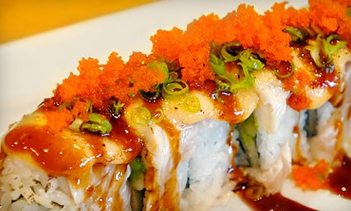 Sakura - Ward 2: $15 for $30 Worth of Teppan Fare, Sushi, and Drinks at Sakura