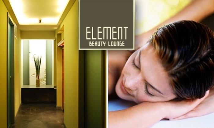 Element Beauty Lounge Manhattan - Greenwich Village: 50-Minute Swedish Massage at Element Beauty Lounge