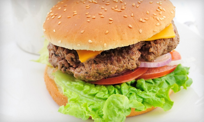 The Spot to Eat - Central London: $17 for a Hamburger Meal for Two at The Spot to Eat ($37.94 Value)