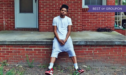 J. Cole Featuring Big Sean with Special Guests YG and Jeremih at Klipsch Music Center on July 26 (Up to 43% Off)