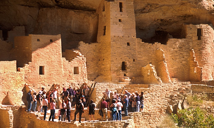 Durango Rivertrippers - Durango: Mesa Verde Group Tour for Two or Four from Durango Rivertrippers & Adventure Tours (Up to 28% Off)