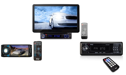 Pyle In-Dash Car Radio or Multimedia DVD Players from $49.99–$229.99