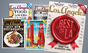 """Los Angeles Magazine"": One- or Two-Year Subscription to Los Angeles Magazine (Up to 57% Off)"