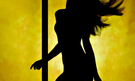 Four Pole-Dancing Classes or Intro to Pole-Dancing Party for Up to Five Women (Up to 81% Off)