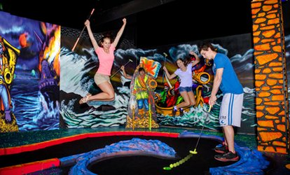 image for Mini Putt and Arcade Games for Two or Four at Captain Jack's Fun Center & Niagara Falls Fun Zone (Up to 82% Off)