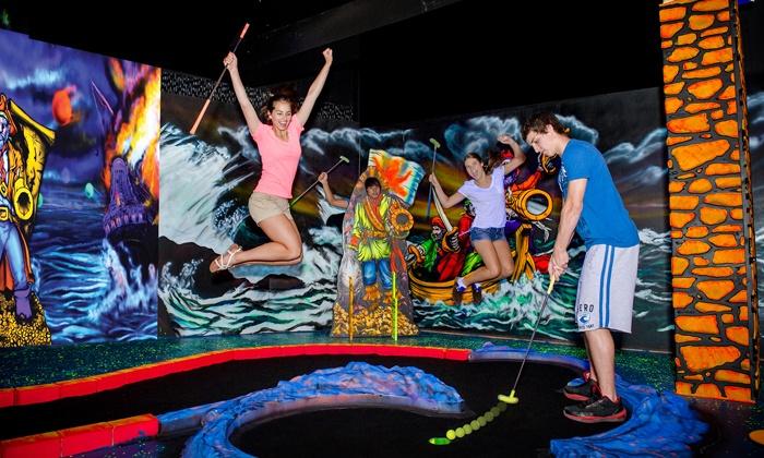 Captain Jack's Fun Center & Niagara Falls Fun Zone - Multiple Locations: Mini Putt and Arcade Games for Two or Four at Captain Jack's Fun Center & Niagara Falls Fun Zone (Up to 85% Off)