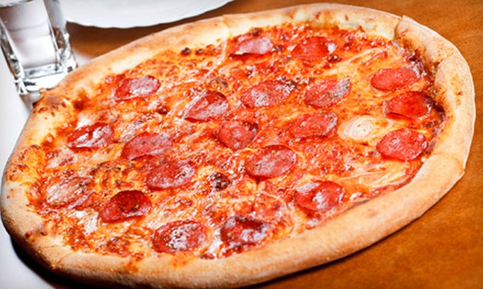 Scotti's Pizza Palooza - University Town Center: Pizza Dinner with Drinks for Two or $5 for $10 Worth of Italian Fare at Scotti's Pizza Palooza