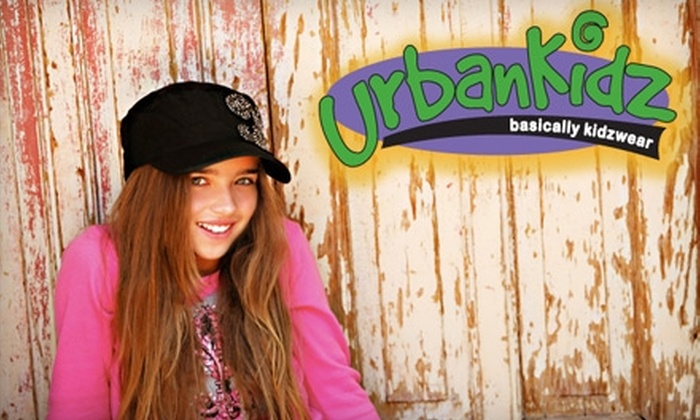 Urban Kidz - Paradise Valley: $25 for $50 Worth of Designer Kids' Fashion at Urban Kidz