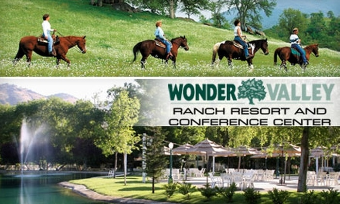 Wonder Valley Ranch Resort - Sierra: $20 for a One-Hour Trail Ride at Wonder Valley Ranch Resort in Sanger (Up to $40 Value)