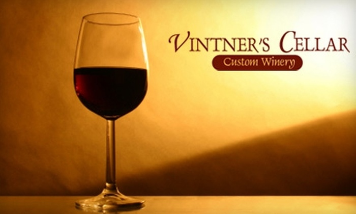 Vintners Cellar Bowmanville - Bowmanville: $55 for a Wine-Making Experience at Vintner's Cellar Bowmanville