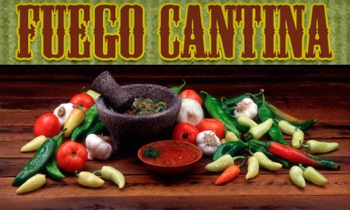Fuego Cantina - Five Points South: $10 for $20 Worth of Mexican Fare and Drinks at Fuego Cantina in Five Points South