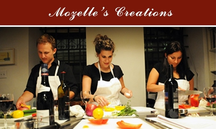 Mozelle's Creations - Seattle: $20 for One Two-Hour Cooking Class at Your Home from Mozelle's Creations