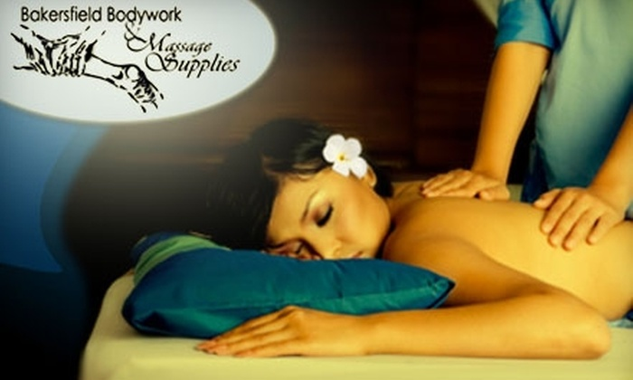 Bakersfield Bodywork & Massage Supplies - Riviera/Westchester: $35 for $70 Towards Any Treatment or Product at Bakersfield Bodywork & Massage Supplies