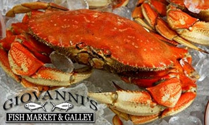 Giovanni's Fish Market & Galley - Bakersfield: $40 for $80 Worth of Delivered Seafood and Merchandise from Giovanni's Fresh Fish Market & Galley