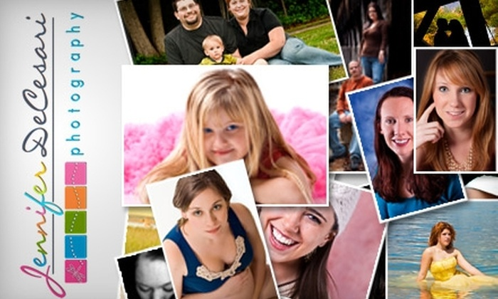 DeCesari Photography - Lincoln: $49 for a Portrait Session and Two Digital-Photo Files at Jennifer DeCesari Photography ($330 Value)