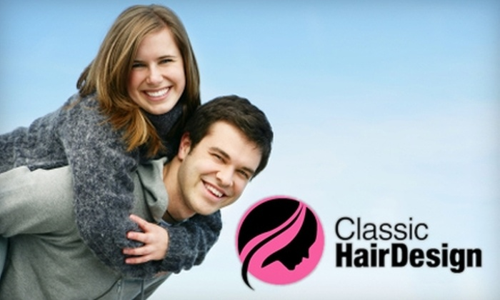 Classic Hair Design - Grand Rapids: $59 for On-Site Teeth Whitening from Classic Hair Design ($129 Value)