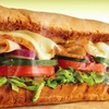 Up to 57% off Sandwiches at Subway