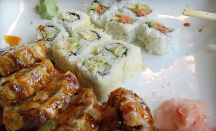 $20 Groupon for Lunch - Sekisui Sushi Bar & Steakhouse in Little Rock