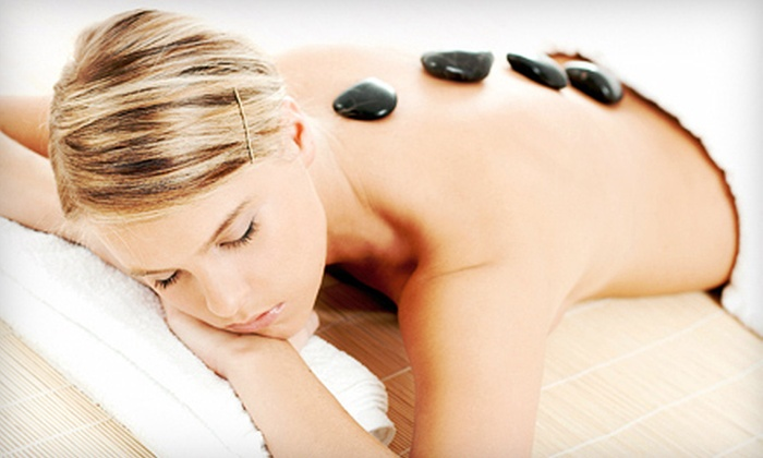 Salon Yetmir - Kingston / Belleville: $75 for a Full-Body Hot-Stone Massage and Hot-Stone Pedicure at Salon Yetmir ($155 Value)