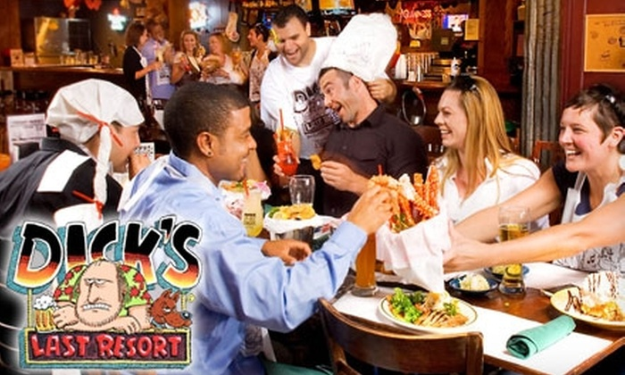 Dick's Last Resort - Gaslamp: $15 for $30 Worth of Pub Grub and Drinks at Dick's Last Resort
