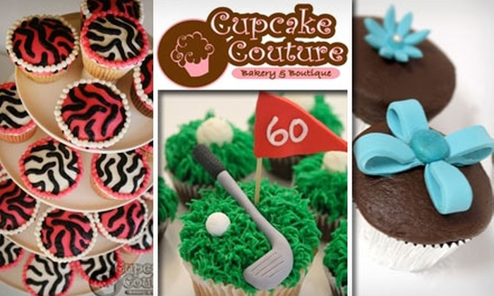 Cupcake Couture - Multiple Locations: $20 Worth of Gourmet Cupcakes at Cupcake Couture