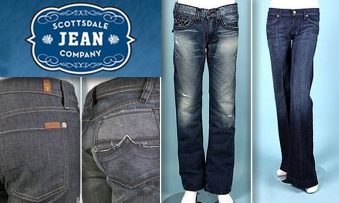 Scottsdale Jean Company - Northsight: $50 for $100 Worth of Premium Denim from Scottsdale Jean Company