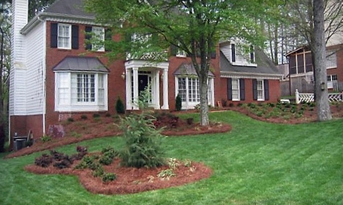 The Lawn Ranger - Roswell: $50 for One Month of Lawn Care or $50 for $150 Toward Landscaping Services from The Lawn Ranger