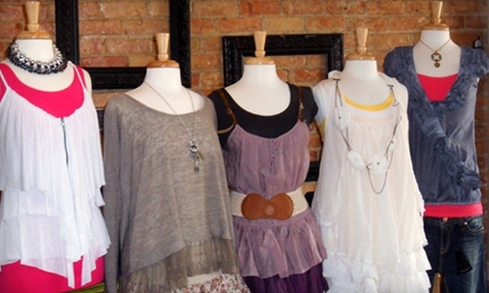 PurPle Pogo - Ogden: $10 for $20 Worth of Boutique Apparel, Jewelry, and Bath Products at PurPle Pogo